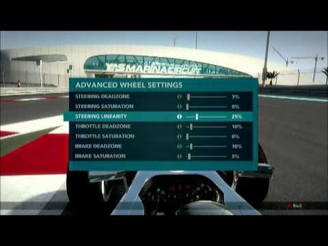 F1 2012 Advanced Wheel Settings