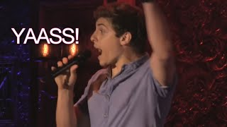 Broadway Male Stars SLAYING High Notes