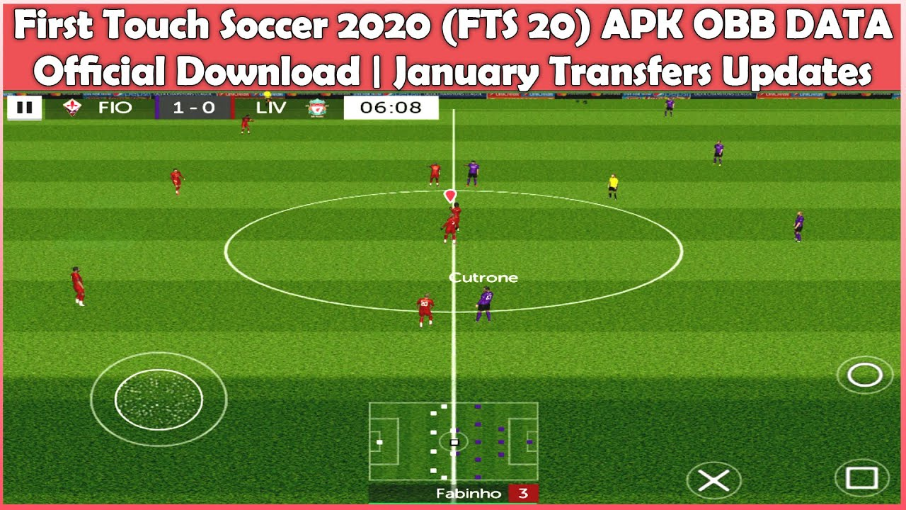 first touch soccer 2020 fts 20 apk obb data official download january transfers updates youtube first touch soccer 2020 fts 20 apk obb data official download january transfers updates
