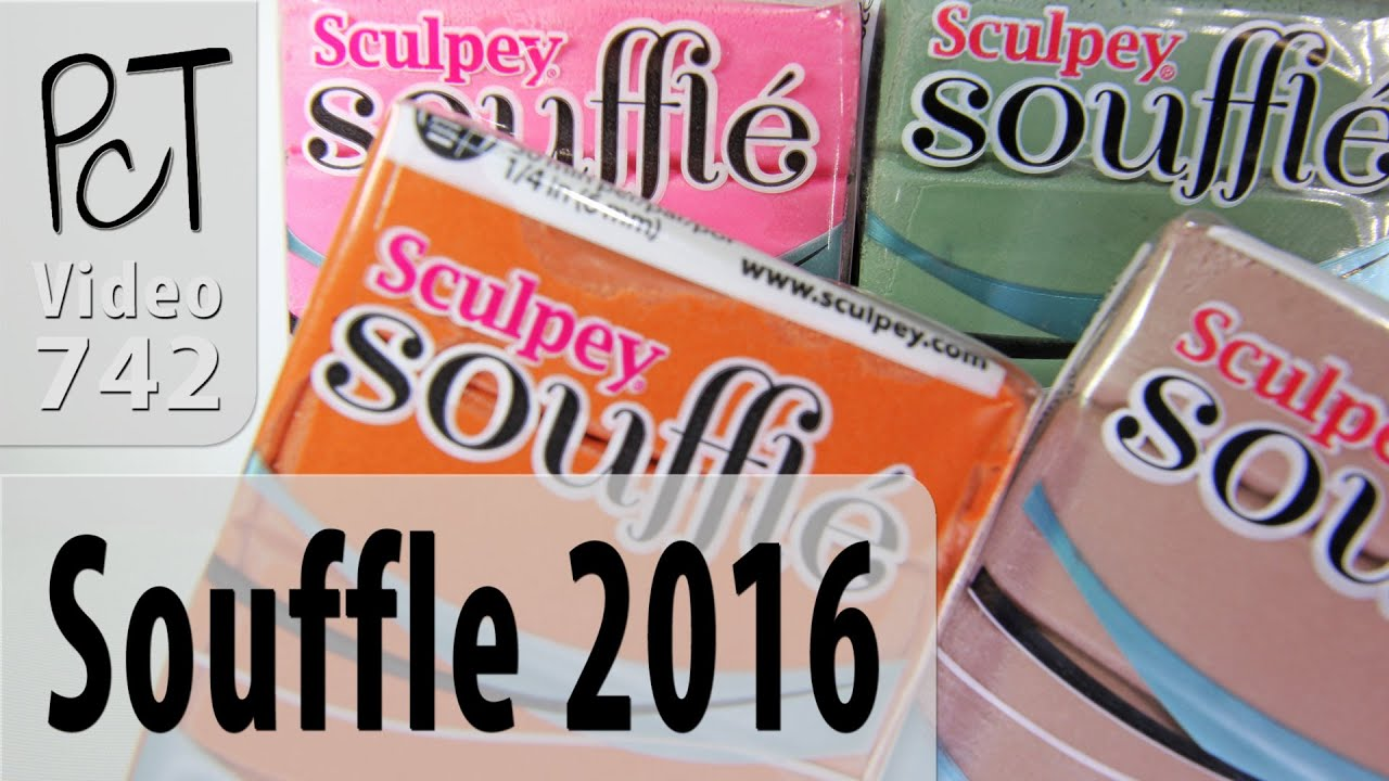 Sculpey Souffle Polymer Clay New Colors 2016 Review Youtube