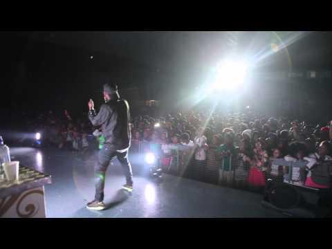 Okmalumkoolkat performing at the tsholofelo album tour in mafikeng