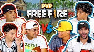 THENINO, CHINO RB Y MAIKEL RE4LG4LIFE NOS RETAN A DOMIDIOS, DANIGAMER Y A MÍ A PVP FREE FIRE 😱🔥