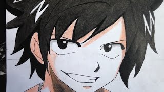 how  to  draw  gray fullbuster (Fairy Tail)