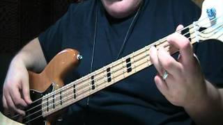 ZZ Top Sharp Dressed Man Bass Cover With Notes & Tablature