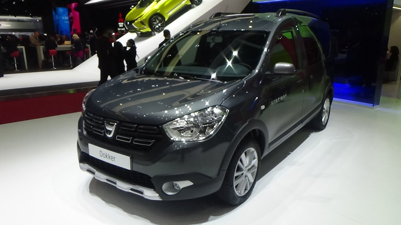 2018 Dacia Dokker Stepway Unlimited Exterior And Interior Geneva Motor Show 2017