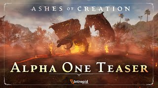 Ashes of Creation Alpha One MMORPG Teaser