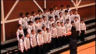 boy choir the seal lullaby eric whitacre