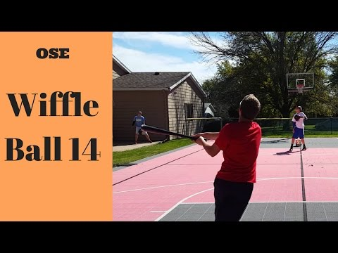Wiffle Ball 14 - Last Game of 2016!?!? - Indians vs. Cardinals Game 3 - 6 innings