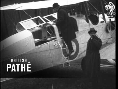 London - Belgium Air Mail And Transport Plane (1920-1929)