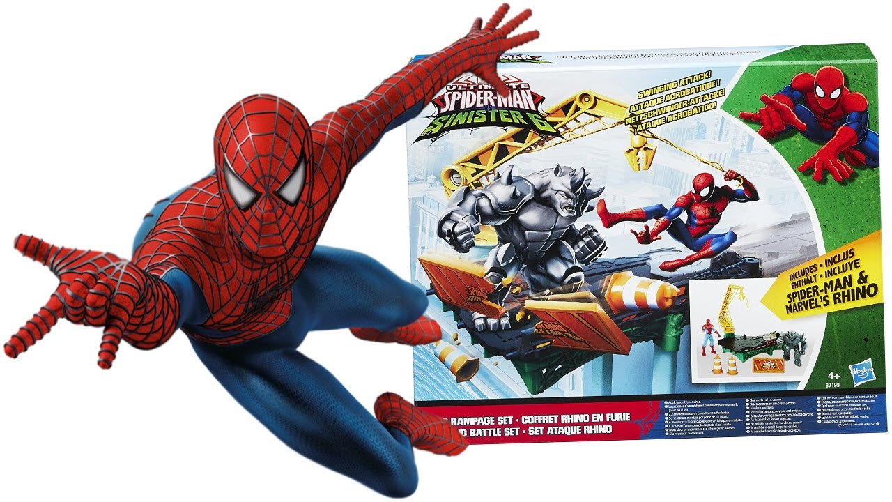SPIDERMAN Italiano - Apriamo la Trappola di Battaglia di Spiderman contro Rhino [Gioco per ...