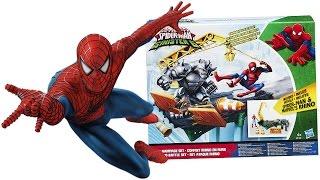 SPIDERMAN Italiano - Apriamo la Trappola di Battaglia di Spiderman contro Rhino [Gioco per Bambini]