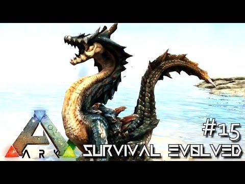 ARK: SURVIVAL EVOLVED - NEW DRAGON MONSTER LAGIACRUS & QURUPECO !!! E15 (ARK ANNUNAKI EXTINCTION)
