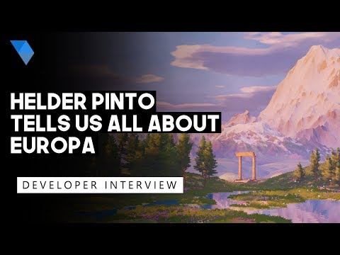Europa Interview - A Gorgeous Stylized Adventure Game Developed by Hélder Pinto