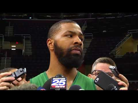 Marcus Morris admits he did a bad job guarding LeBron James in Game 3 | ESPN