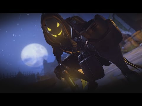 Овервотч. Хэллоуин. Здесь