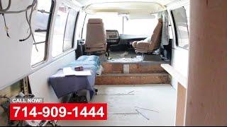 Custom Van Remodeling In Orange County California
