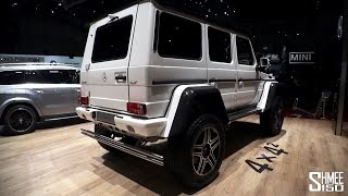 FIRST LOOK: Mercedes G500 4x4 Squared - Geneva 2015