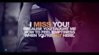 I Miss You - Love & Sad R&B Slow Jam Beats Instrumentals 2015 - 2016   (Prod. FreshyBoyz)