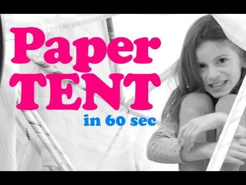 Paper Tent • The Quick Brown Fox