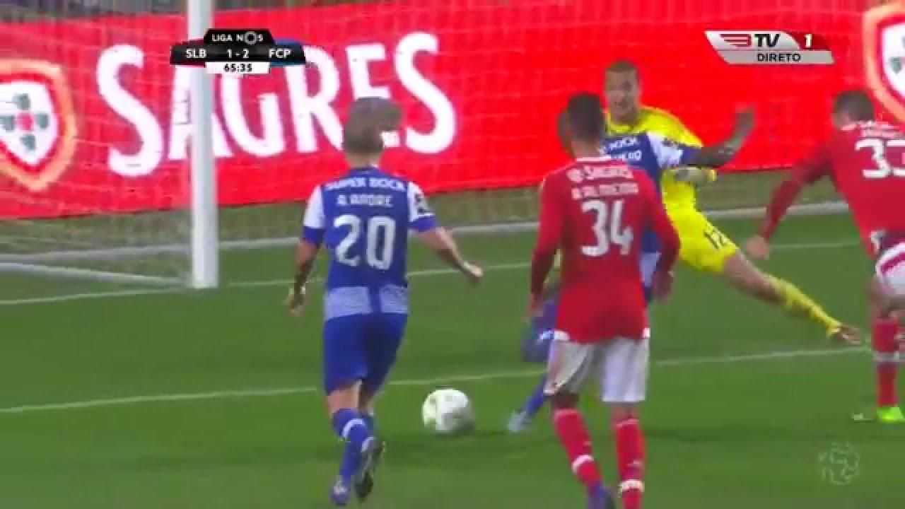 S L Benfica   F C Porto Golos Jornada