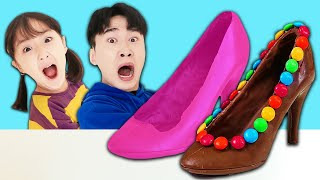 Making Chocolate Shoes and Eat…