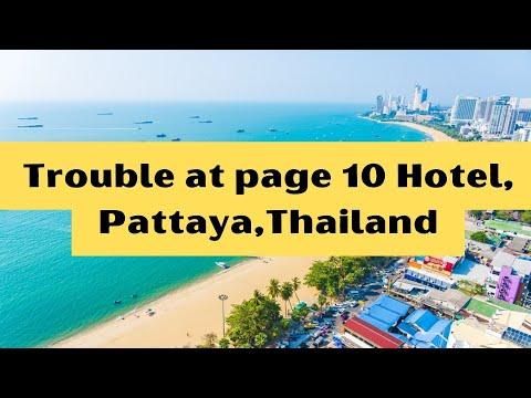 Page 10 Hotel, Pattaya, Thailand. OCT 2016.
