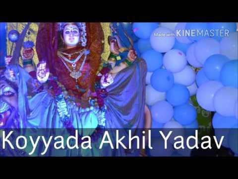 Matha Shervali..  Koyyada Akhil Yadav Frm Balkampet. B.k.guda Jai Matha Youth Association