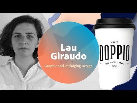 Live Graphic and Packaging Design with Lau Giraudo - 1 of 3