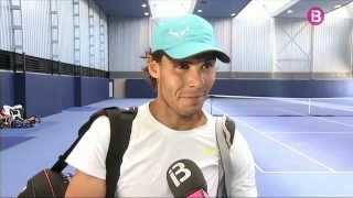 Rafael Nadal prepares for Wimbledon in Manacor, Mallorca (+ INTERVIEW)
