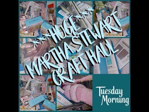 ~~HUGE ~~ MARTHA STEWART HAUL ~~ TUESDAY MORNING