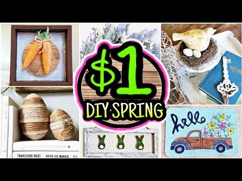10 Dollar Tree Spring DIYs