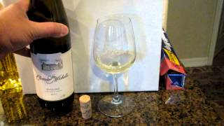 Riesling - 2011; Chateau Ste Michelle; Woodinville, Washington