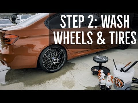 Step 2: How to Wash Your Wheels & Tires - BMW F80 M3