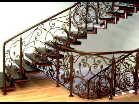 Перила 91  Лестница из металла Днепропетровск фото металлическая лестница с коваными перилами Днепр
