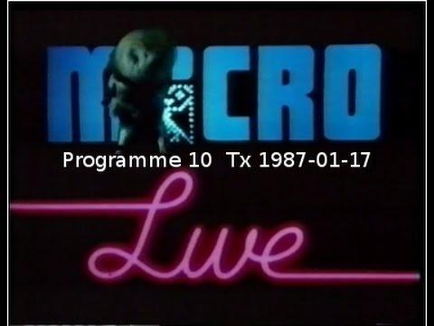 BBC Micro Live, last series, programme 10, 1987-01-17
