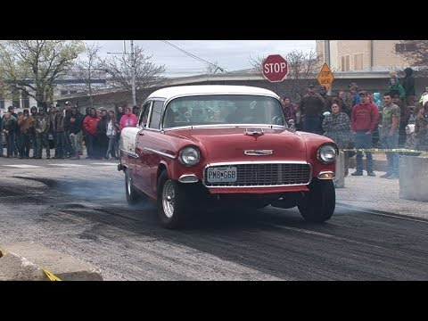 SMALL TOWN BURNOUTS - Buffalo Car Show