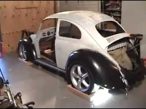 flair the vw bug front fenders slightly 110 youtube. Black Bedroom Furniture Sets. Home Design Ideas