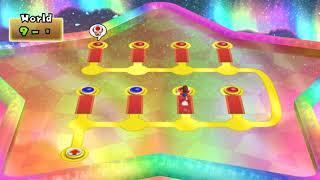 [TAS] New Super Mario Bros. Wii 100% world 9 (9/9)