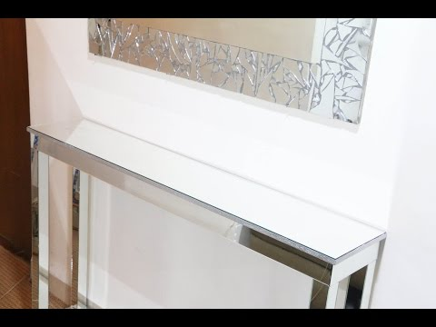 DIY | Mirrored Console Table (DIY Room Decor Ideas )