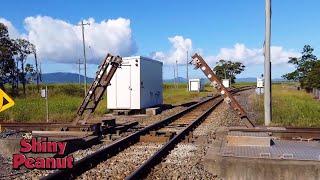 Cuma Satu di Dunia! Rel Ini Terangkat Bila Kereta Dari Jalur Berseberangan Lewat