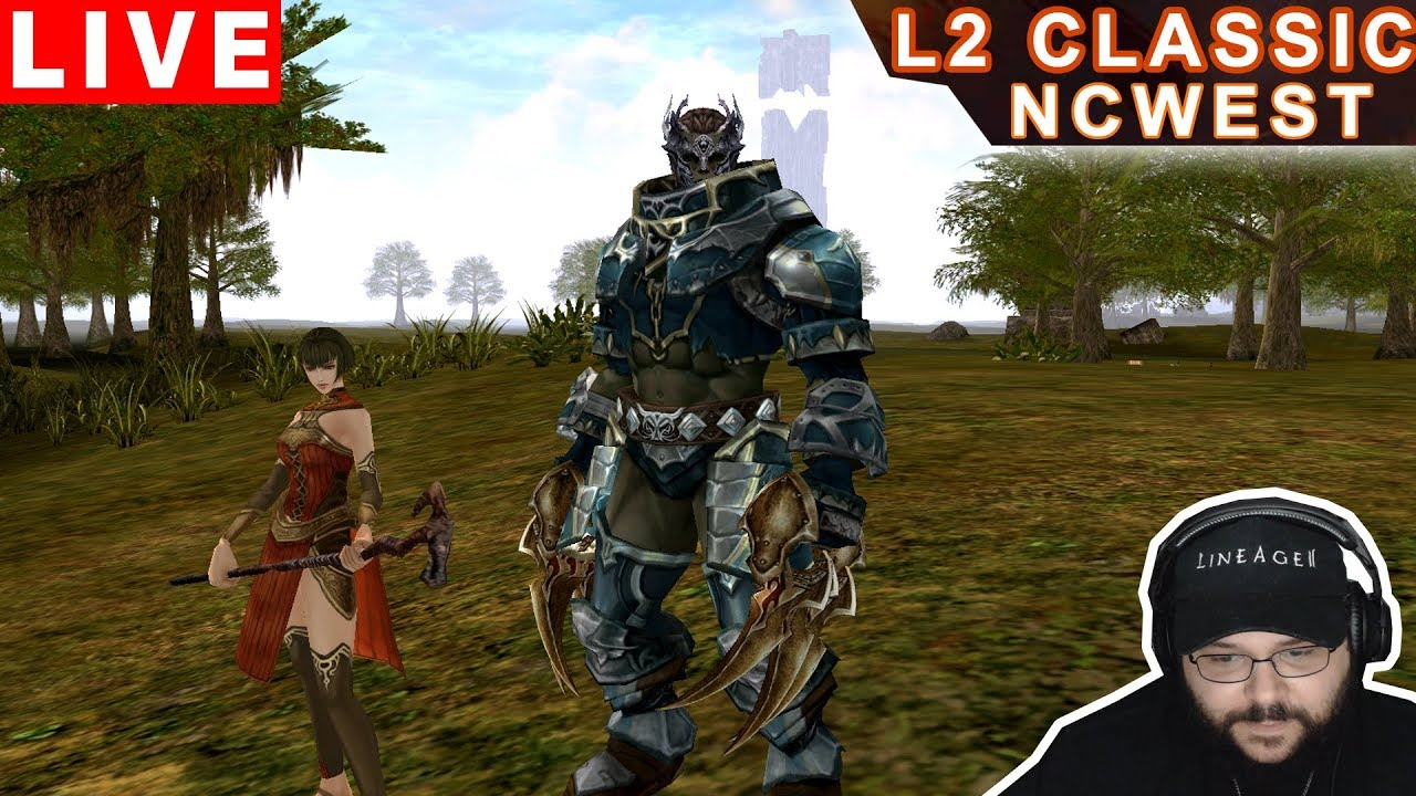 Lineage II Classic NA - Orc Monk & Human Cleric Gameplay