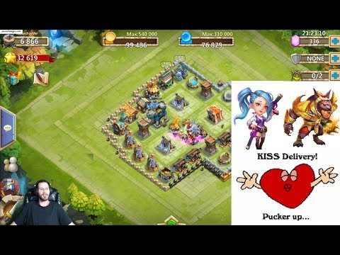7 Day Old Free 2 Play With GunSlinger & Anubis Castle Clash