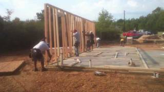 Framing Carpentry Phase By East Texas Custom Home Builder