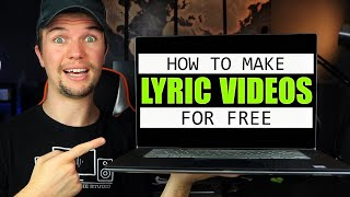 How to Make a LYRIC VIDEO (For Beginners) | Make Your Own FREE Lyric Videos! (VideoPad Edition)