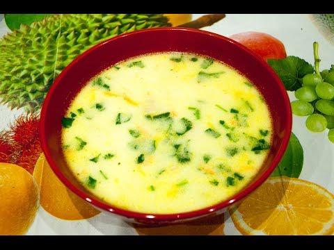 Как готовить суп с сыром