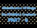 Classification Of Pharmacology Drugs Part #6 For Pharma Fresher's || Pharma Guide
