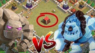 GOLEM vs EISGOLEM! ⭐️ Clash of Clans ⭐️ CoC