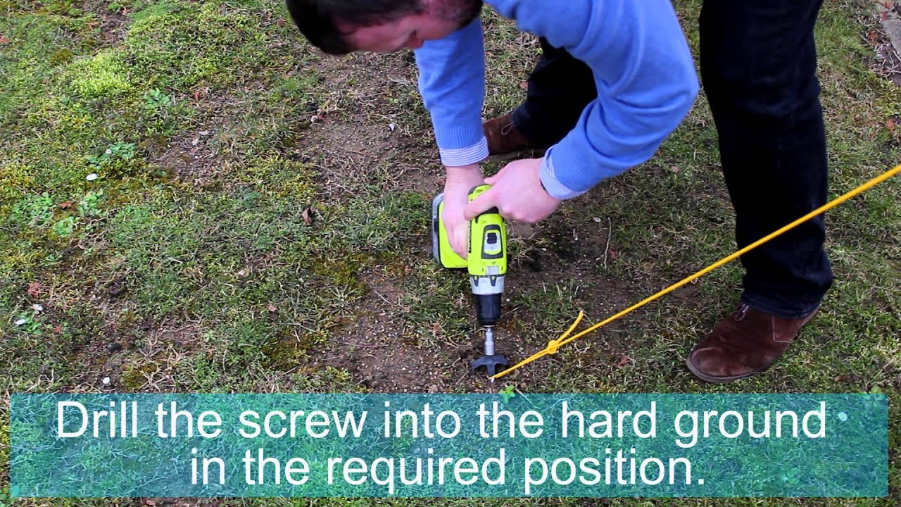Screw Peg Pro : screw in tent anchors - memphite.com