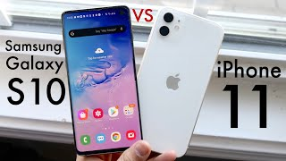 iPhone 11 Vs Samsung Galaxy S10 In 2020! (Comparison) (Review)