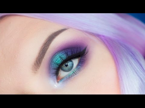 Enchanted Forest Smokey Eye Makeup Tutorial